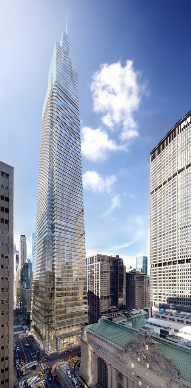 New York One Vanderbilt 427m 1401ft 58 Fl U C
