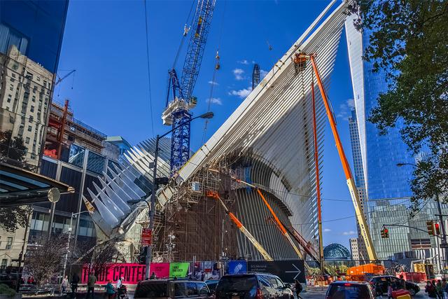 World Trade Center PATH station, image by ILNY