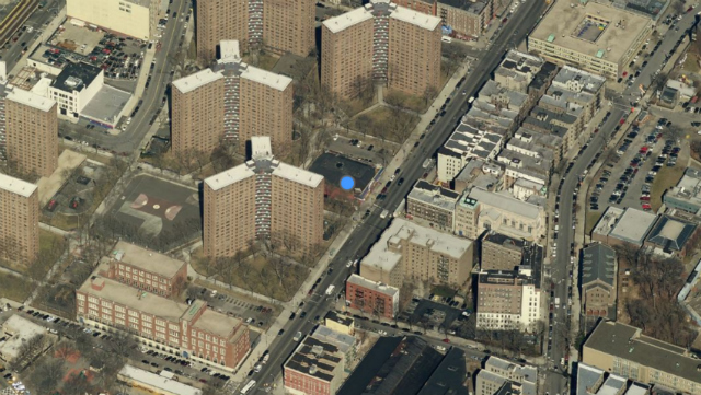 1440 Amsterdam Avenue, image from Bing Maps