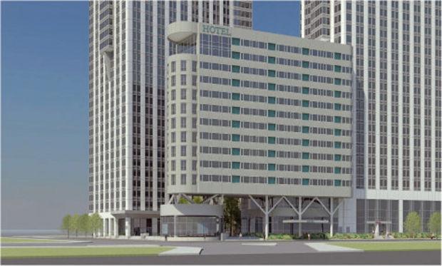 80 Columbus Drive, rendering via Ironstate