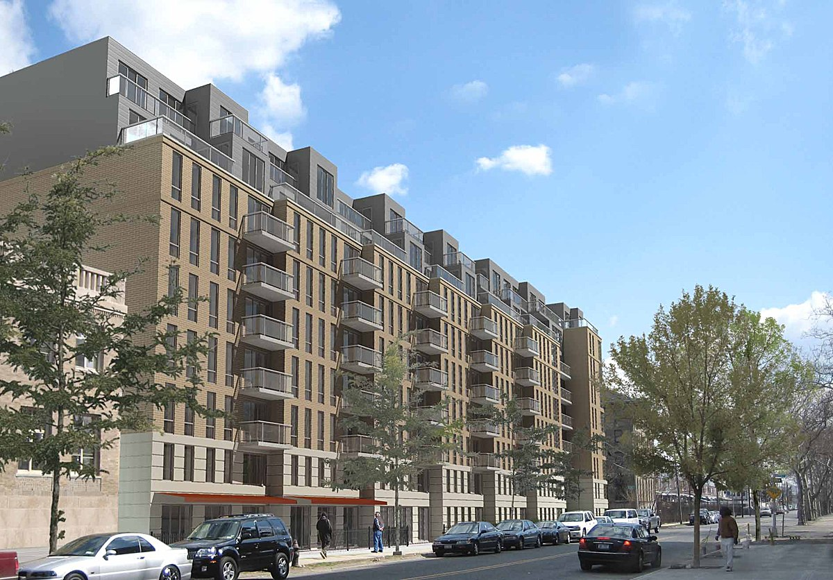 Greenpoint Hospital Redevelopment, rendering via NYC HPD