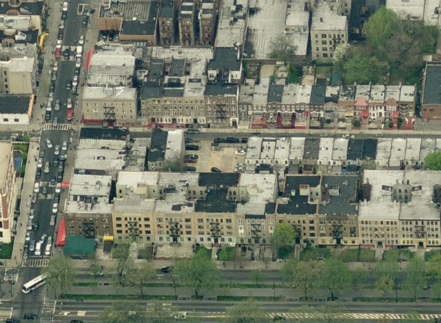 1308 & 1314 Lincoln Place, image from Bing Maps