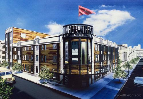 783 Knickerbocker Avenue, rendering by Charles Mallea