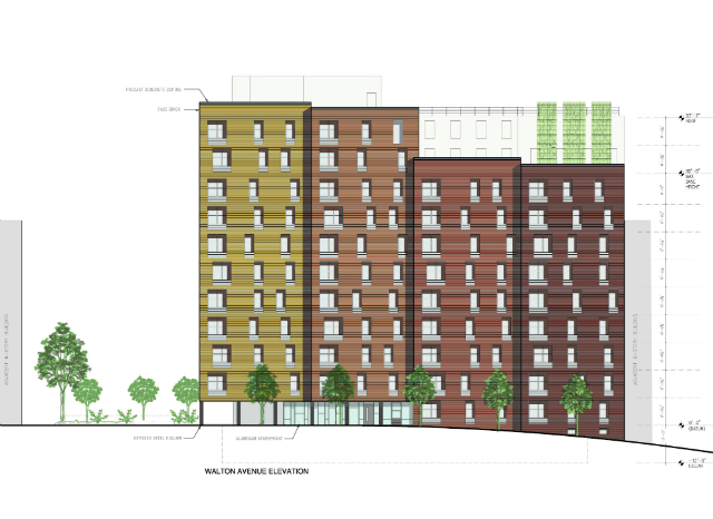 1561 Walton Avenue, image from Settlement Housing