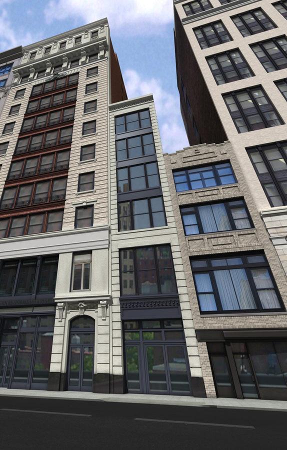 34 West 21st Street, rendering by Karl Fischer