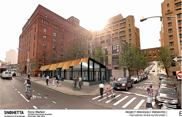 Previous proposal for 20 Old Fulton Street