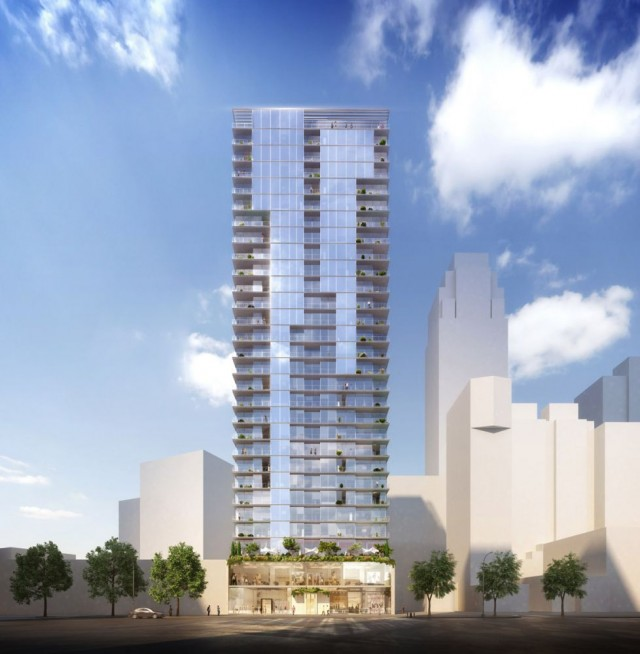 436 Albee Square, rendering by ODA Architecture