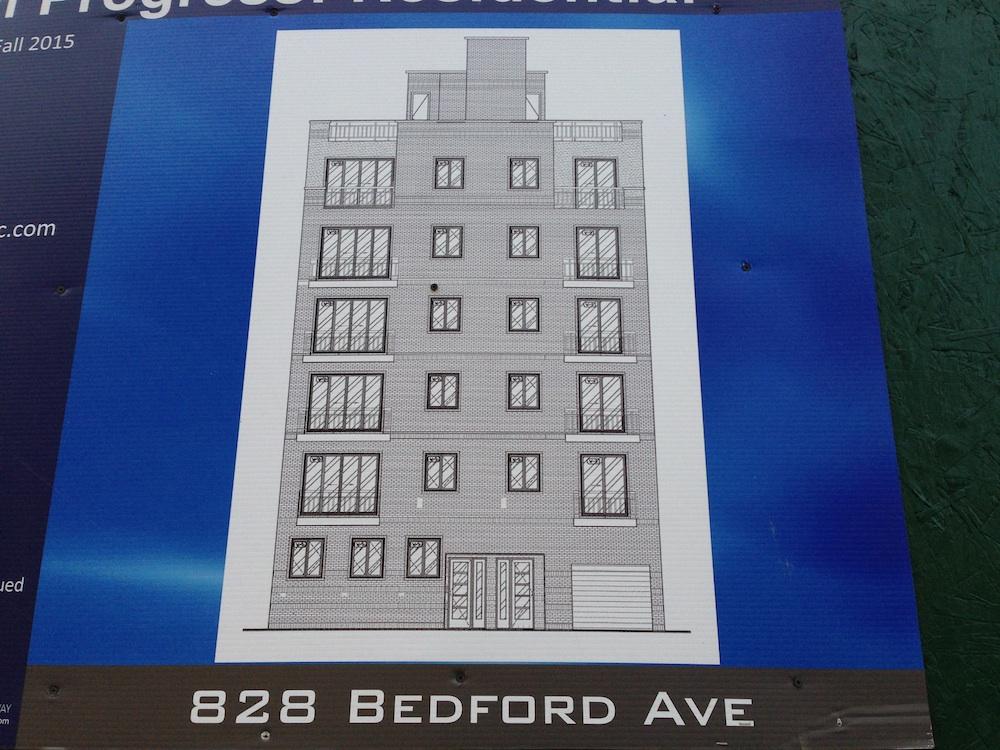 828 Bedford Avenue, image by Brownstoner