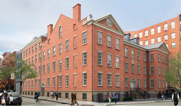 32 Prince Street, renderings by Marvel Architect