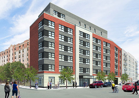 120 West 169th Street, rendering from the Briarwood Organization
