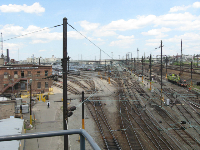 Sunnyside Yard, image by Jim Henderson from Wikimedia