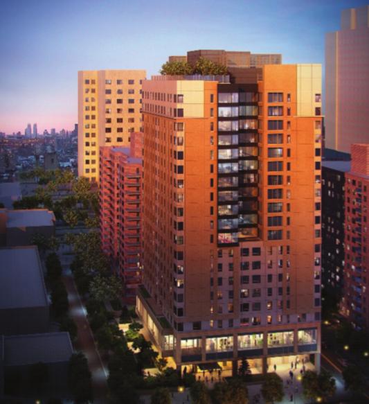 125 West 97th Street, rendering by Perkins Eastman