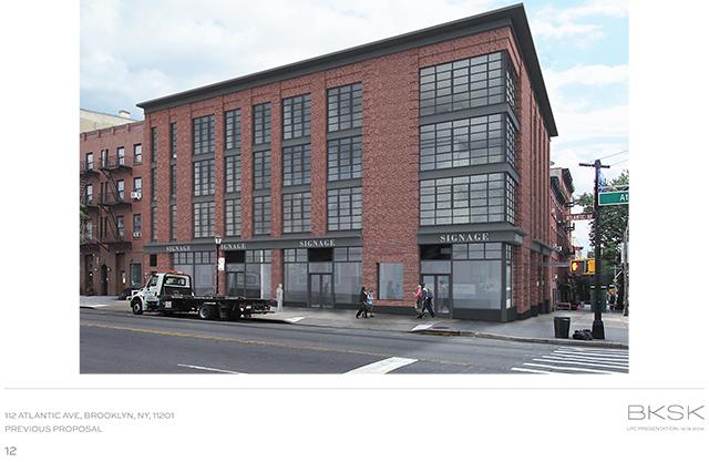 Previous design for 112 Atlantic Avenue