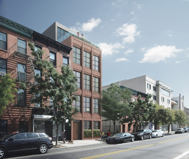 161 Columbia Street, rendering from Avery Hall Investments
