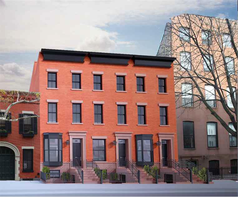 295 Hicks Street, rendering by Krista Demirdache