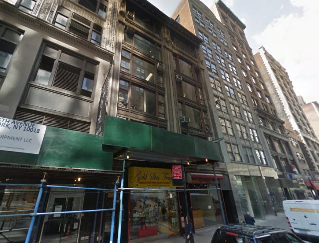 4 West 37th Street, image from Google Maps