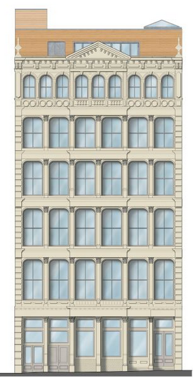 476 Broome Street, rendering via JBS Project Management