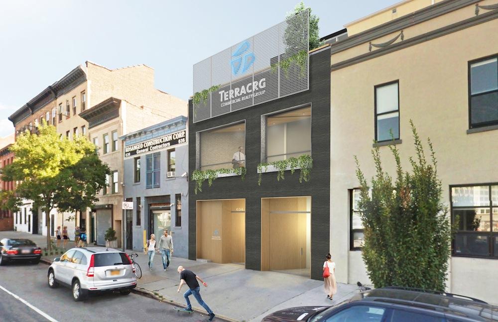 634 Dean Street, rendering by Ole Sondresen