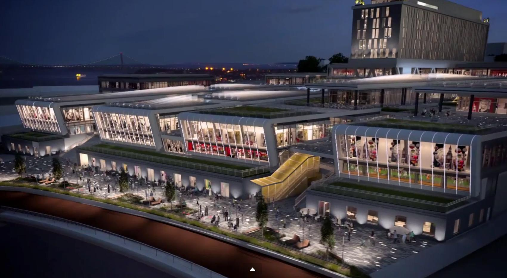 Empire Outlets, rendering by SHoP