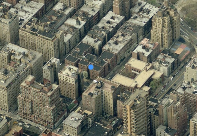 711 West End Avenue, image from Bing Maps