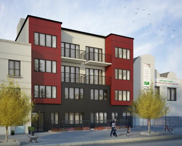 767 Bergen Street, rendering by InFocus