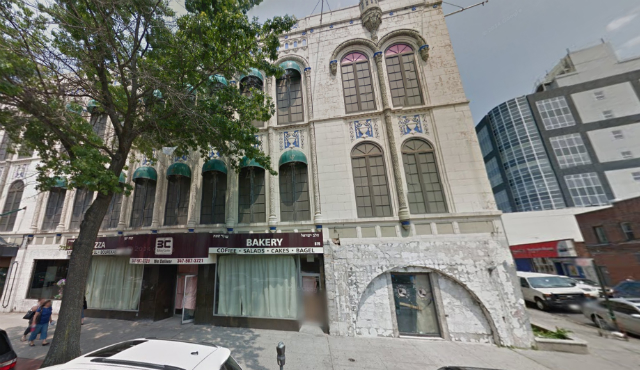 815 Kings Highway, image from Google Maps, which will either be included in the project or will contribute air rights