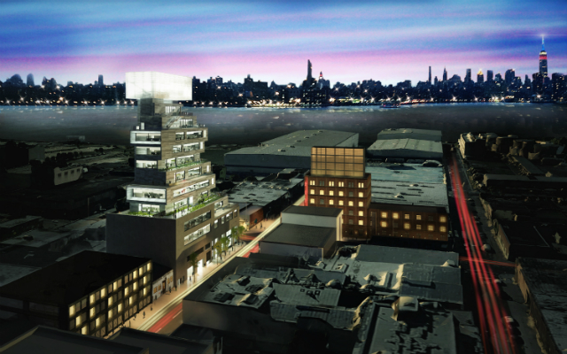 87 Wythe Avenue, rendering by Studio 4D