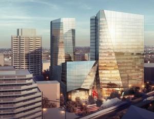 The Hub, image by KPF