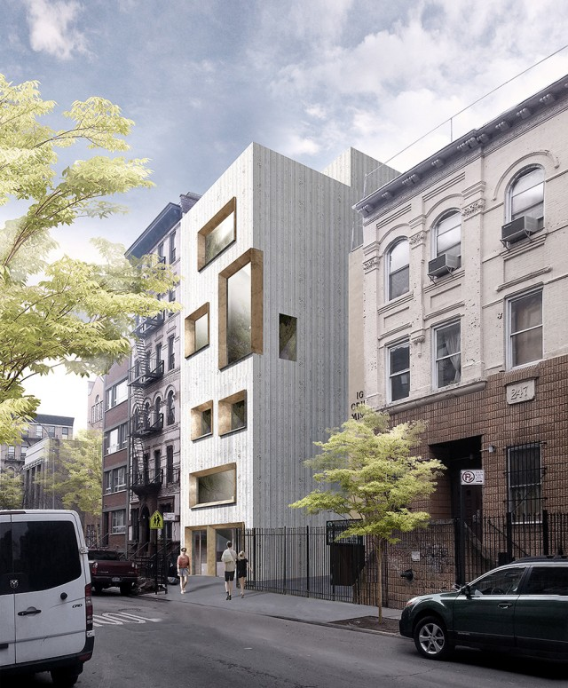 243 East 7th Street, rendering by Studio Razavi Architecture
