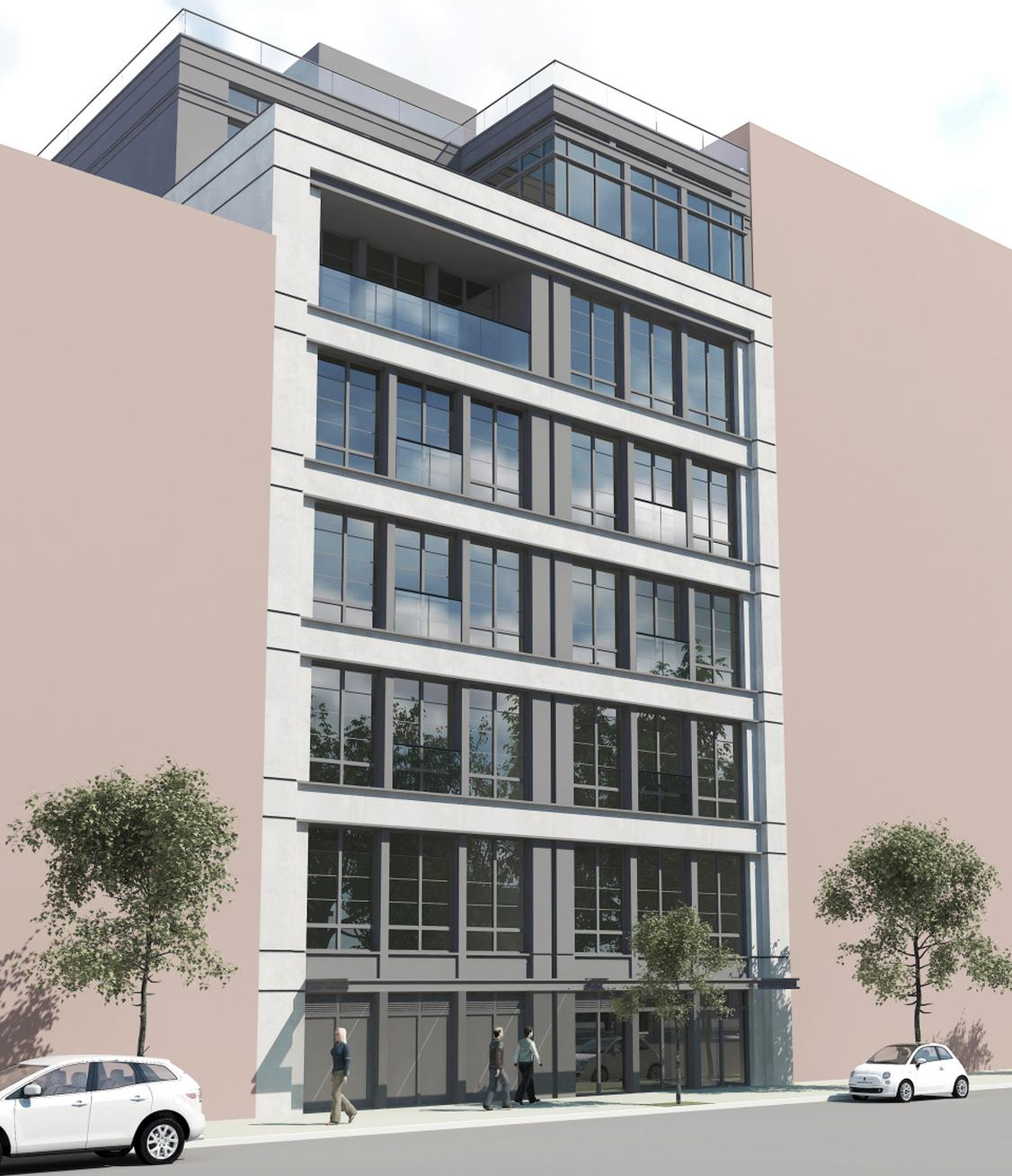204 Forsyth Street, rendering by Z Architecture