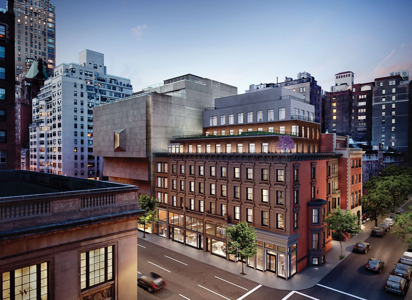 33 East 74th Street, rendering by Neoscape