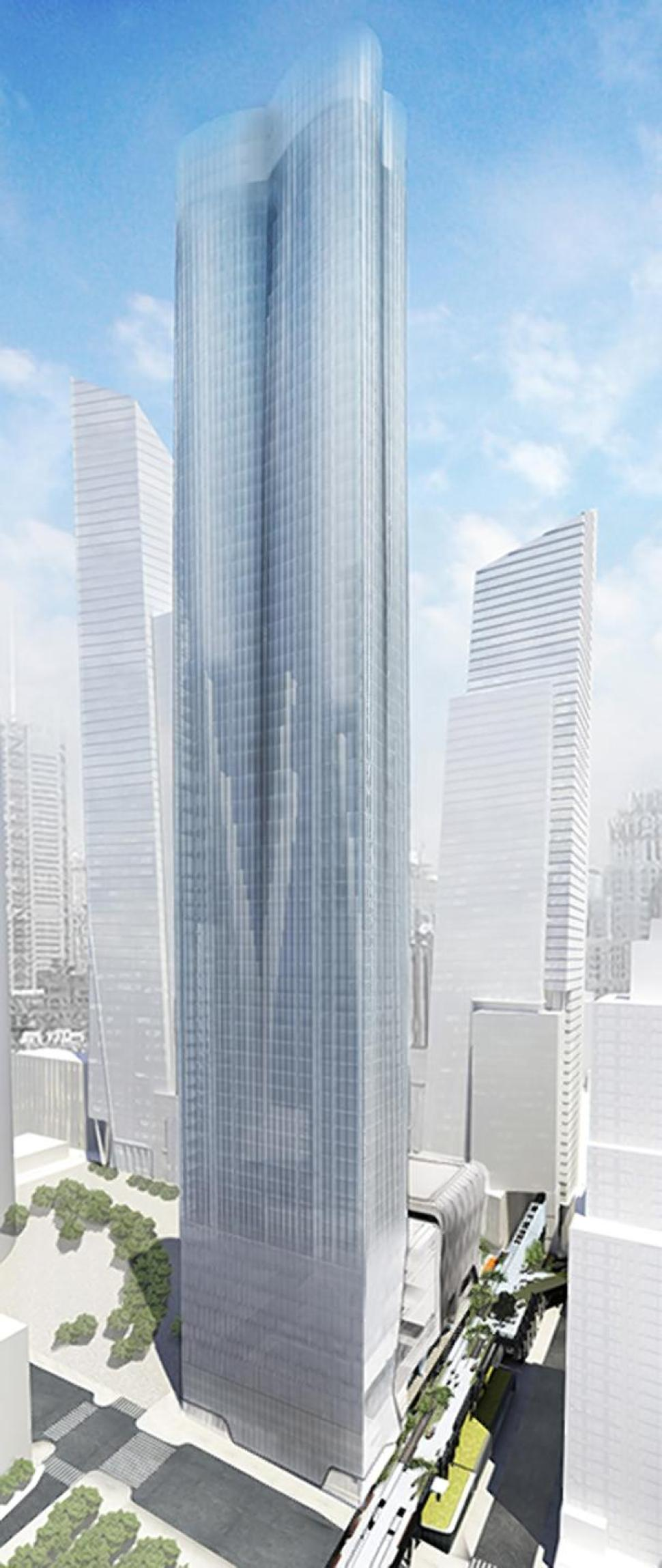 15 Hudson Yards, rendering by Diller Scofidio + Renfro