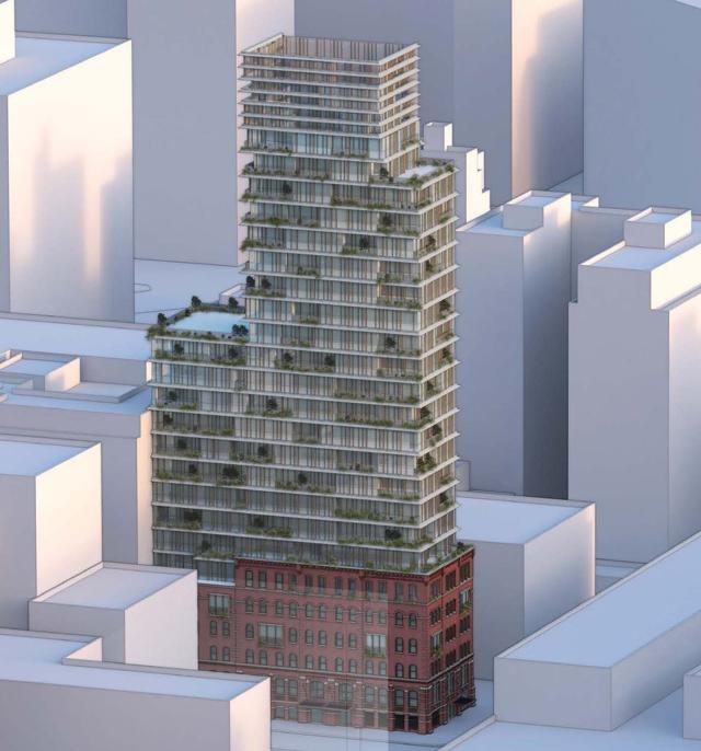 Design Confirmed For 92 100 Vandam Street Hudson Square