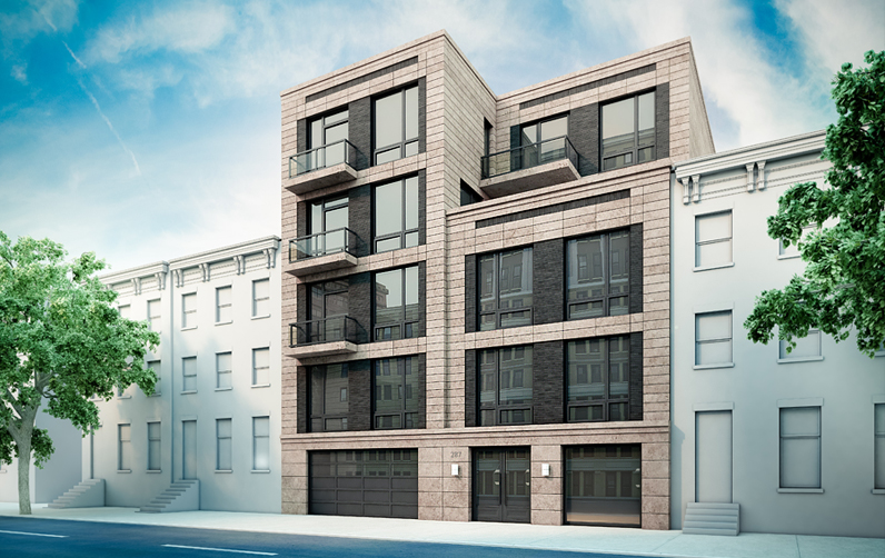 287 Pacific Street, rendering by Issac & Stern