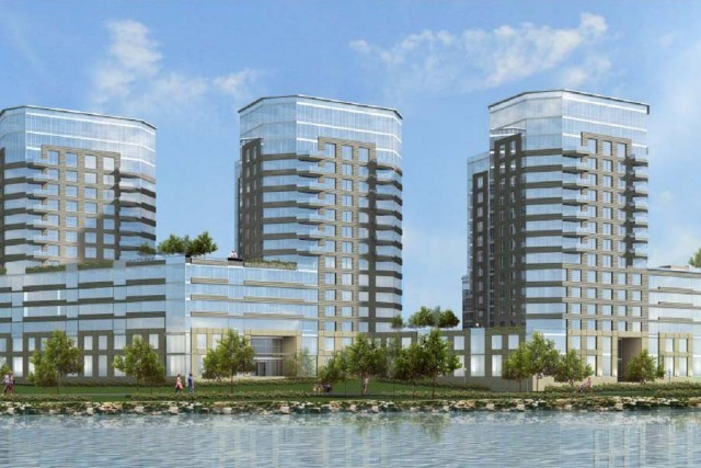 River Park Place, rendering by Ismael Levya