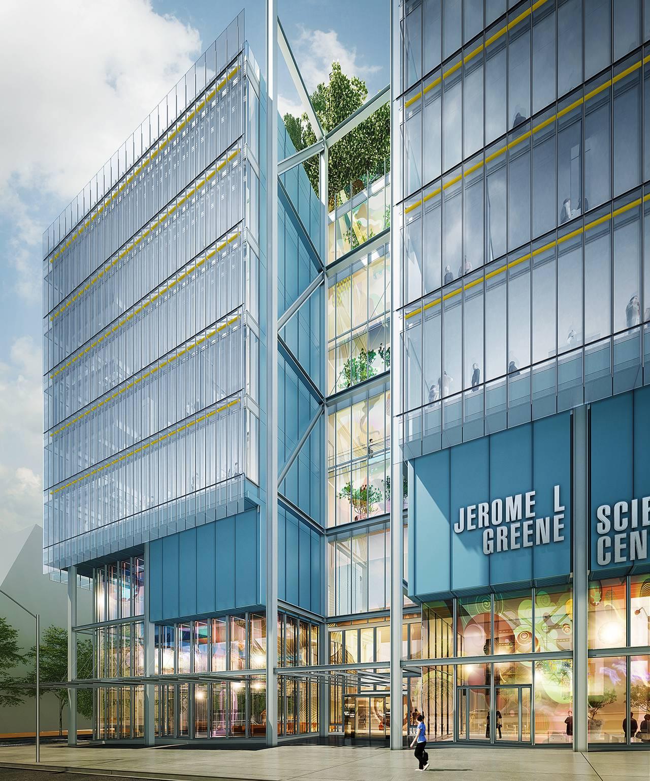 Jerome L. Greene Science Center