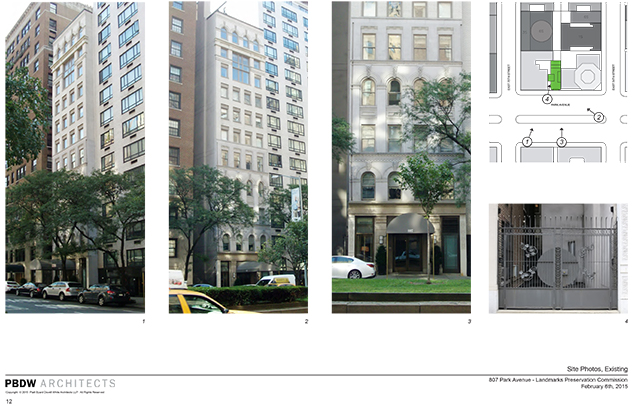807 Park Avenue, currently