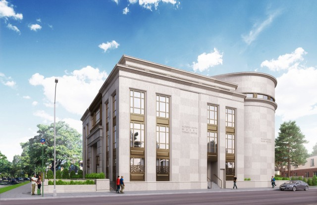 Edmond J. Safra Synagogue/2085 Ocean Parkway, image from Building Studio Architects