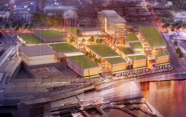 Developers break ground on empire outlets mixed use for Jackson terrace yonkers ny