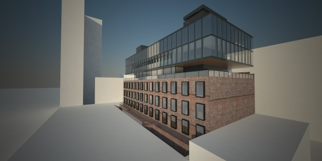 520 West 20th Street, rendering by Morris Adjmi