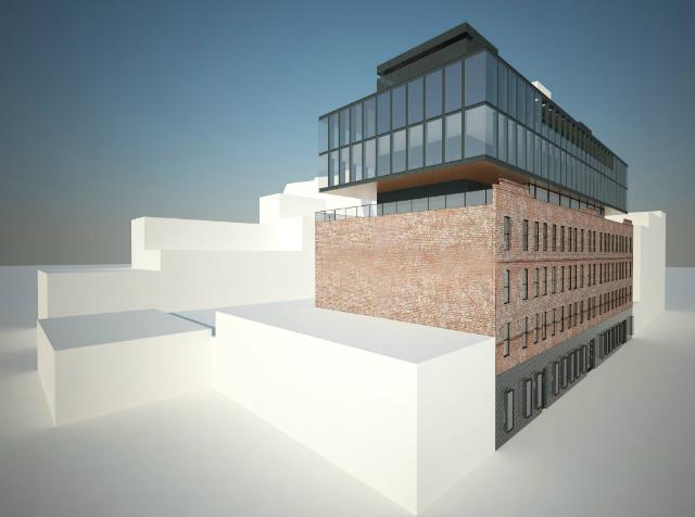 520 West 20th Street, rendering by Morris Adjmi