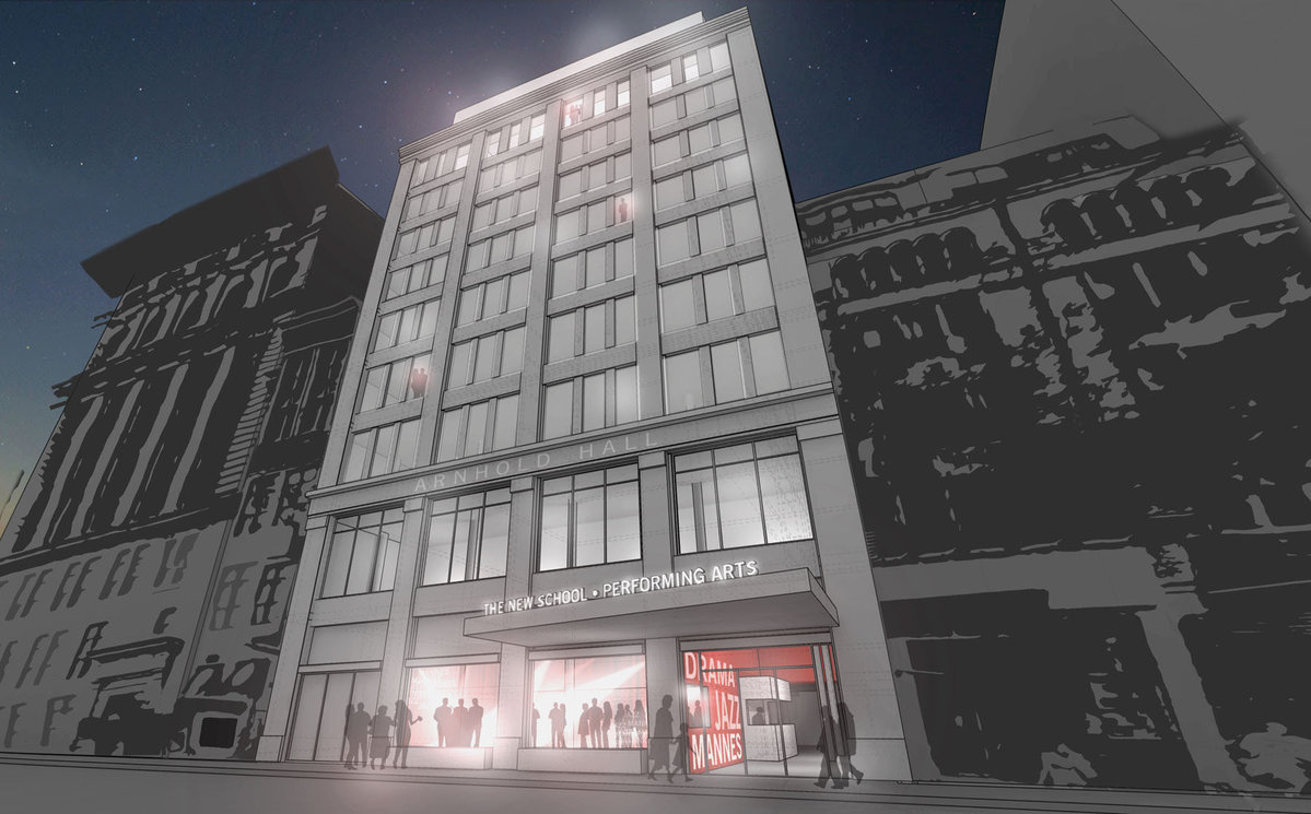 YIMBY Today: Rooftop Outdoor Space Planned for 50 W 23rd Street in Flatiron District, More NYC Real Estate News image via Tigho