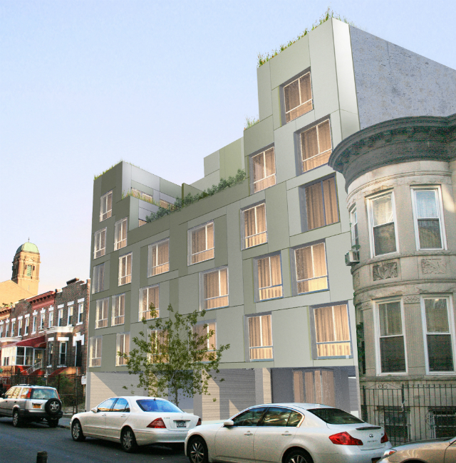 1312 Lincoln Place, rendering by RoArt