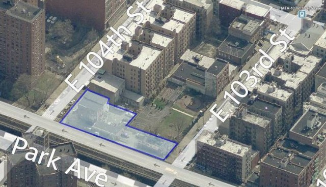 1399 Park Avenue, image from Bing Maps