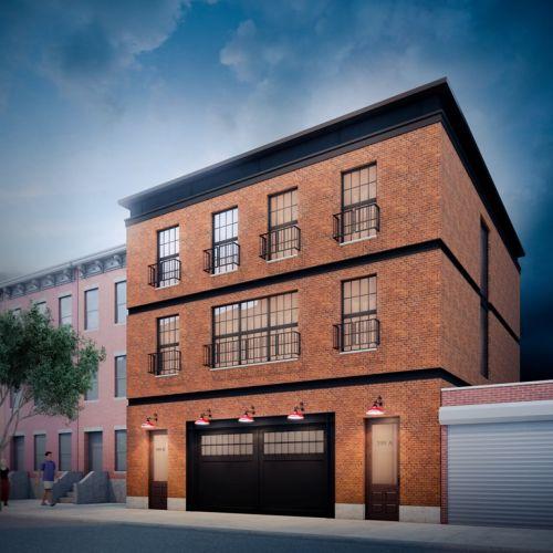 399 President Street, rendering by Issac & Stern