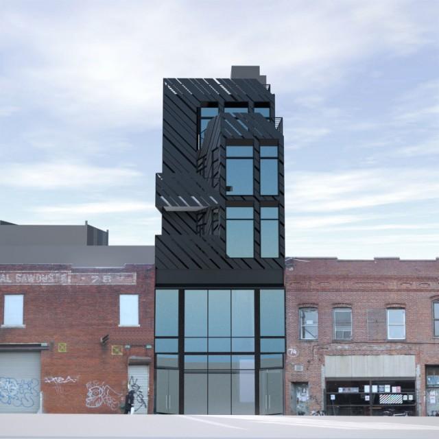 76 North 6th Street, rendering by Bureau V