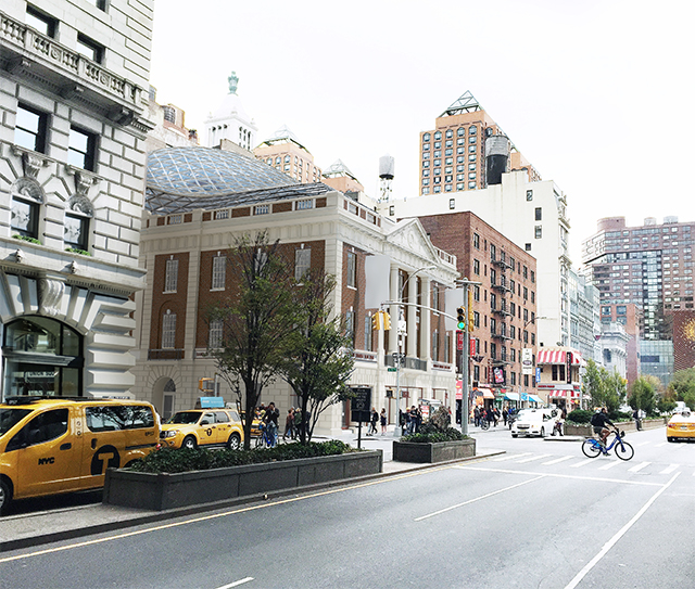 Tammany Hall, approved design, as viewed from Park Avenue South