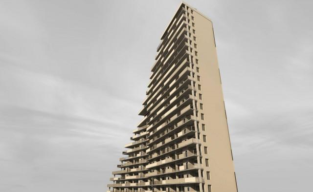 1580 Nostrand Avenue, rendering by Loadingdock5