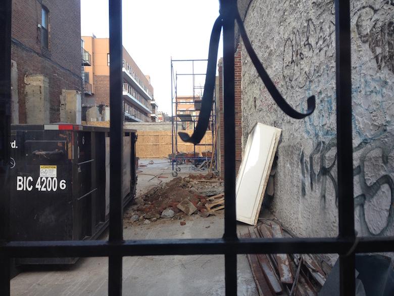 142 manhattan avenue construction williamsburg