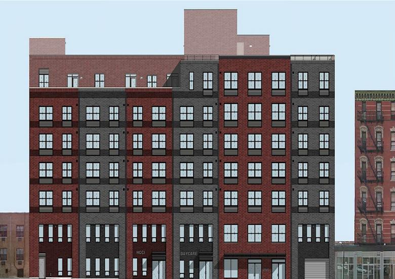 260 west 153rd street harlem rendering